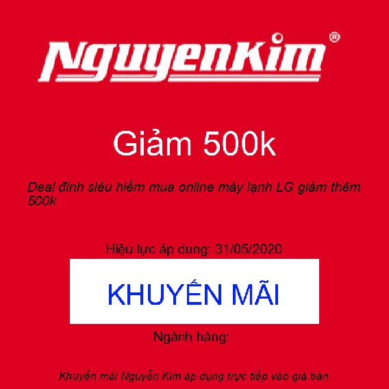 Deal đỉnh siêu hiếm mua online máy lạnh LG giảm thêm 500k